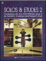 Solos and Etudes-Book 2-Cello Sheet Music