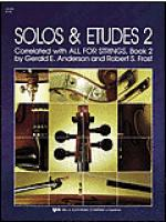 Solos and Etudes-Book 2-Violin Sheet Music
