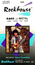 Rockhouse Rock And Metal Bass Method No.3 Advanced A Video Sheet Music
