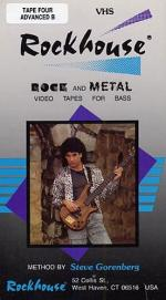 Rockhouse Rock And Metal Bass Method No.4 Advanced B Video Sheet Music