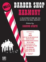 Barber Shop Harmony Sheet Music