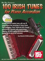 100 Irish Tunes for Piano Accordion Book/CD Set Sheet Music