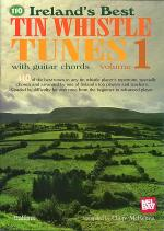 Ireland's Best Tin Whistle Tunes V1 With Guitar Chords Sheet Music