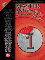 Master Anthology of Blues Guitar Solos Volume One Book/2-CD Set Sheet Music