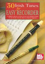 30 Irish Tunes for Easy Recorder Sheet Music