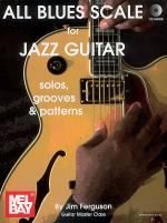 All Blues Scale for Jazz Guitar Book/CD Set Sheet Music