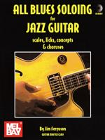 All Blues Soloing for Jazz Guitar Book/CD Set Sheet Music