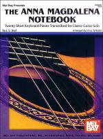The Anna Magdalena Notebook for Classic Guitar Sheet Music