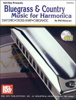 Bluegrass & Country Music for Harmonica Book/CD Set Sheet Music