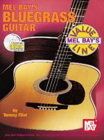 Bluegrass Guitar Book/CD Set Sheet Music