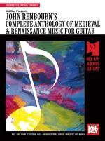 Complete Anthology of Medieval & Renaissance Music for Guitar Sheet Music