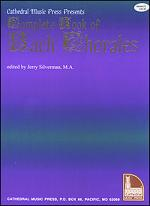 Complete Book of Bach Chorales Sheet Music
