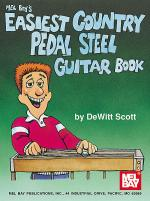 Easiest Country Pedal Steel Guitar Book Sheet Music