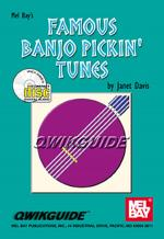 Famous Banjo Pickin' Tunes QWIKGUIDE Book/CD Set Sheet Music