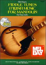 Fiddle Tunes & Irish Music for Mandolin Book/CD Set Sheet Music