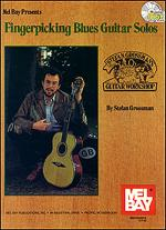 Fingerpicking Blues Guitar Solos Book/CD Set Sheet Music