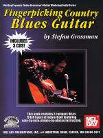 Fingerpicking Country Blues Guitar Book/3-CD Set Sheet Music