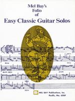 Easy Classic Guitar Solos Sheet Music