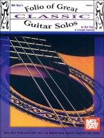 Folio of Great Classic Guitar Solos Sheet Music