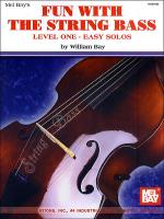 Fun with the String Bass Sheet Music