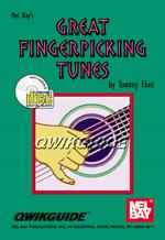 Great Fingerpicking Tunes QWIKGUIDE Book/CD Set Sheet Music