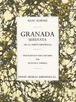 Granada Serenata (Tarrega) Guitar Sheet Music