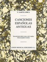 Canciones Espanolas Antiguas (Guitar) Sheet Music
