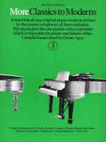 More Classics To Moderns: Book 3 Sheet Music