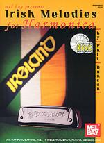Irish Melodies for Harmonica Book/CD Set Sheet Music