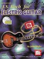 J. S. Bach for Electric Guitar Book/CD Set Sheet Music