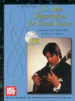J. S. Bach Transcriptions for Classic Guitar Book/CD Set Sheet Music