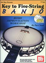 Key to Five-String Banjo Book/CD Set Sheet Music