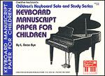 Keyboard Manuscript Paper for Children Sheet Music