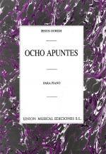 Guridi Ocho Apuntes Piano Sheet Music