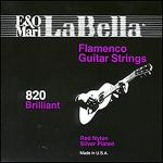 La Bella Elite 820 Flamenco (Red Trebles) Guitar Strings Sheet Music