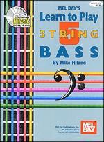 Learn to Play 5-String Bass Book/CD Set Sheet Music