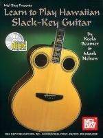 Learn to Play Hawaiian Slack Key Guitar Book/CD Set Sheet Music