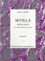 Albeniz Sevilla Sevillanas No.3 De Suite Espanola Piano Sheet Music