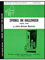 Spooks on Halloween Sheet Music