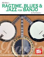 Ragtime, Blues & Jazz for Banjo Sheet Music