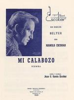 Juan G. Garcia Escobar: Mi Calabozo (Rumba) Sheet Music