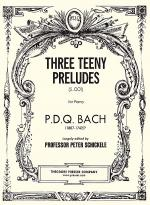 Three Teeny Preludes Sheet Music