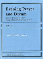 Evening Prayer and Dream Sheet Music