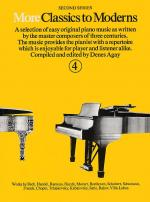 More Classics To Moderns - Book 4 Sheet Music