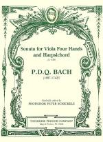 Sonata for Viola Four Hands and Harpsichord Sheet Music