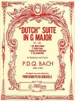 Dutch Suite in G Major Sheet Music