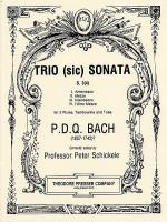 Trio (Sic) Sonata Sheet Music