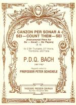 Canzon Per Sonar A Sei- Count Them - Sei (Instrumental Piece for Six- Eccoli- Six Players) Sheet Music
