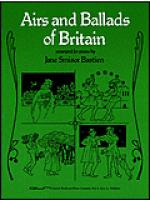 Airs And Ballads Of Britain Sheet Music