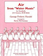 Air from Water Music (Handbell) Sheet Music